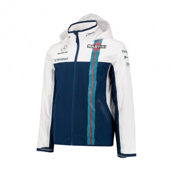 Williams Martini Racing pánská bunda s kapucí Rain Jacket 2017