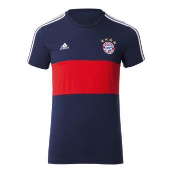 Bayern Mnichov pánské tričko 3S blue-red 17