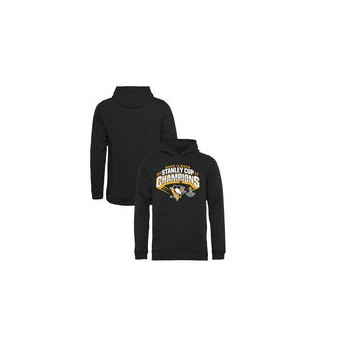 Pittsburgh Penguins dětská mikina Fanatics Branded Youth 2017 Stanley Cup Champions Slapshot Pullover Hoodie Black