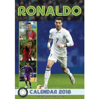 Cristiano Ronaldo kalendář 2018 (29,7 x 42 cm) A3