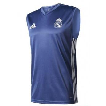 Real Madrid pánské treninkové tílko trg blue