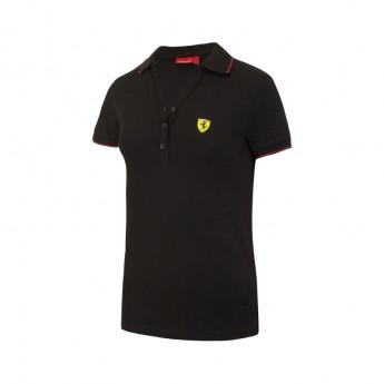 Ferrari dámské polo tričko Classic black F1 Team 2017