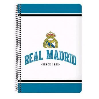 Real Madrid blok sešit A5 whiteblue 1902