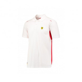 Scuderia Ferrari pánské polo tričko Vettel due white F1 Team 2017