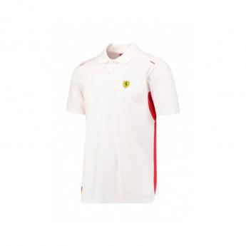 Scuderia Ferrari pánské polo tričko Kimi due white F1 Team 2017