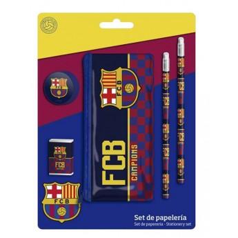 FC Barcelona set školních pomůcek campions due