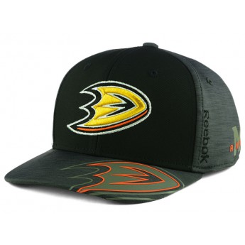 Anaheim Ducks kšiltovka Reebok 2017 NHL Playoff Flex Cap