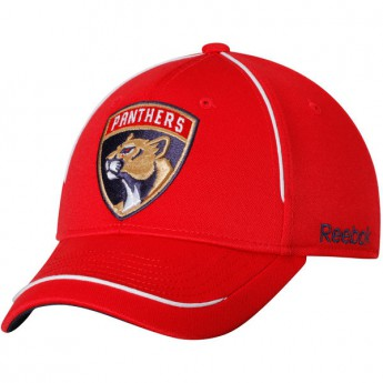 Florida Panthers čepice baseballová kšiltovka red Jersey Hook Flex Hat