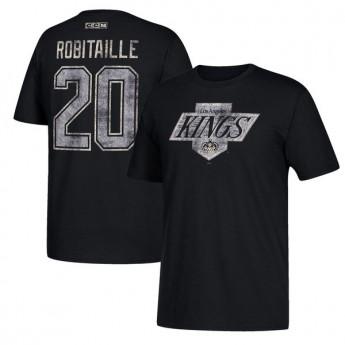 Los Angeles Kings pánské tričko black #20 Luc Robitaille Retired
