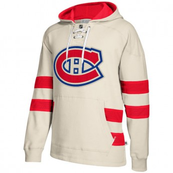 Montreal Canadiens pánská mikina 2017 CCM Jersey Pullover Hoodie White
