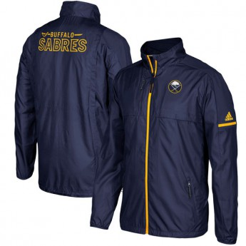 Buffalo Sabres pánská bunda blue Authentic Rink Full-Zip Jacket