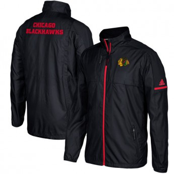 Chicago Blackhawks pánská bunda black Authentic Rink Full-Zip Jacket