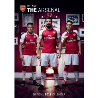 FC Arsenal kalendář 2018 (29,7 x 42 cm) A3