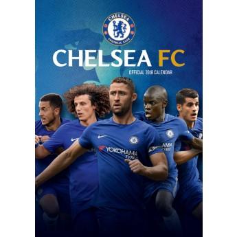 FC Chelsea kalendář 2018 (29,7 x 42 cm) A3