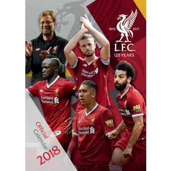 FC Liverpool kalendář 2018 (29,7 x 42 cm) A3