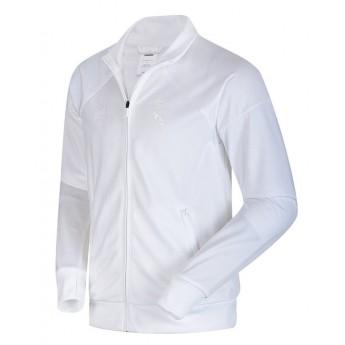 Real Madrid pánská tréninková bunda white trk top d30f561e9c