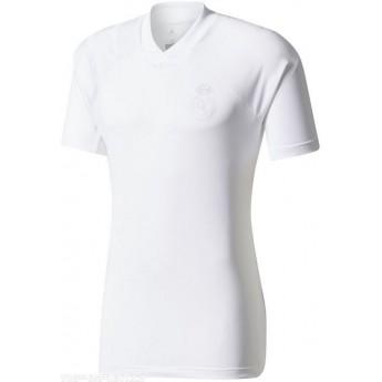 Real Madrid pánské tréninkové tričko white li
