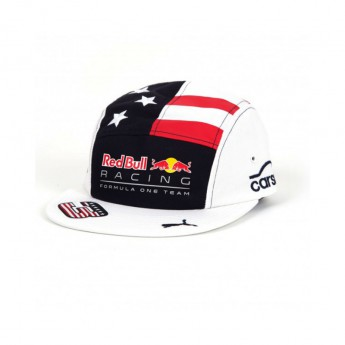 Red Bull Racing kšiltovka Flat Brim Daniel Riccardo US GP F1 Team 2017