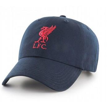 FC Liverpool čepice baseballová kšiltovka blue logo red