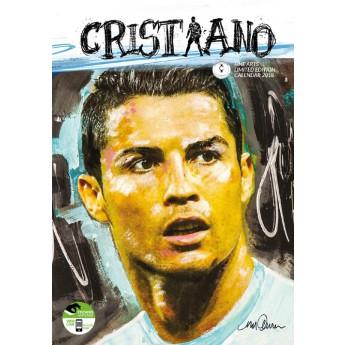Christiano Ronaldo kalendář 2018 (29 x 42cm) + 12 samolepek