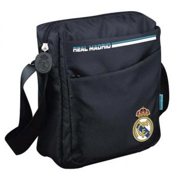 Real Madrid malá taška na rameno black logo