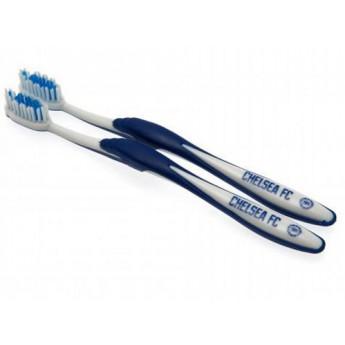 FC Chelsea zubní kartáček bluewhite 2ks