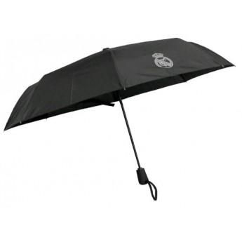 Real Madrid skládací deštník black logo