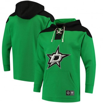 Dallas Stars Pánská Mikina  NHL Breakaway Lace Up
