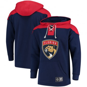 Florida Panthers pánská mikina blue NHL Breakaway Lace Up
