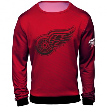Detroit Red Wings Pánská Mikina  NHL Static Rain