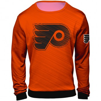 Philadelphia Flyers pánská mikina orange Static Rain