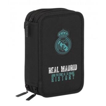 Real Madrid školní pouzdro black history