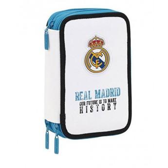 Real Madrid školní pouzdro white history