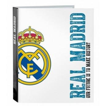 Real Madrid kroužkový pořadač A4 white history