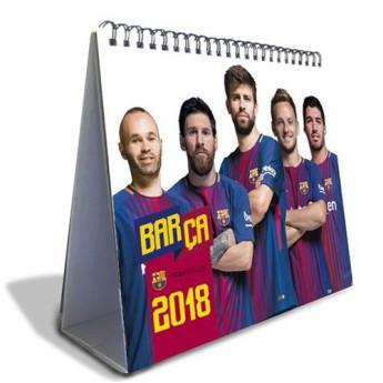 FC Barcelona kalendář 2018 (20 x 17 cm)