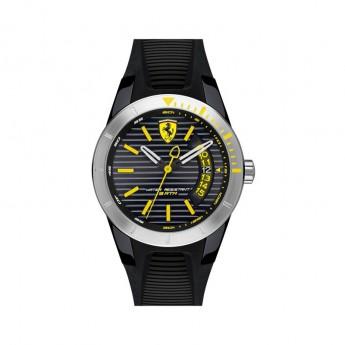 Scuderia Ferrari hodinky RED REV T black/silver/yellow