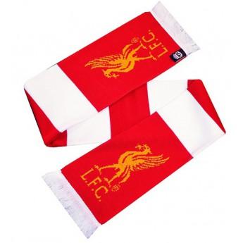 FC Liverpool zimní šála redwhite logo