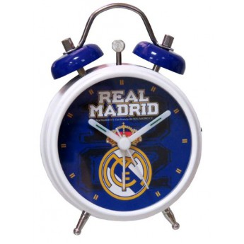 Real Madrid budík blue logo