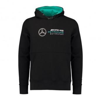 Mercedes AMG Petronas pánská mikina s kapucí black F1 2018