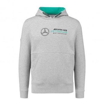 Mercedes AMG Petronas pánská mikina grey F1 2018