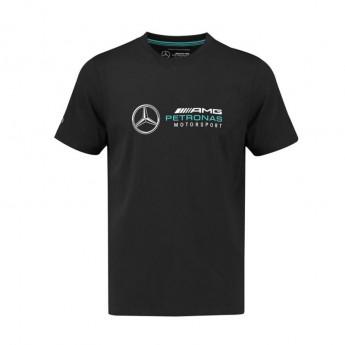 Mercedes AMG Petronas pánské tričko Logo black F1 Team 2018
