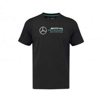 Mercedes AMG Petronas dětské tričko Logo black F1 Team 2018