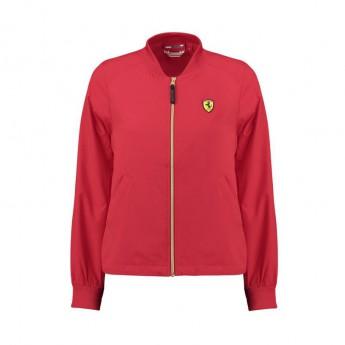 Ferrari dámská bunda Bomber red F1 Team 2018