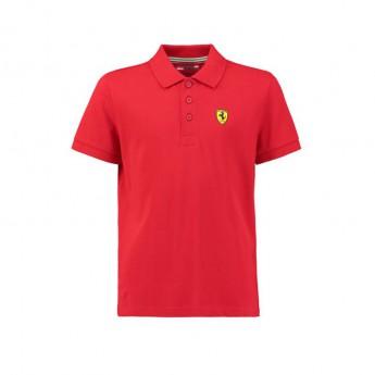 Ferrari dětské polo tričko Classic red F1 Team 2018