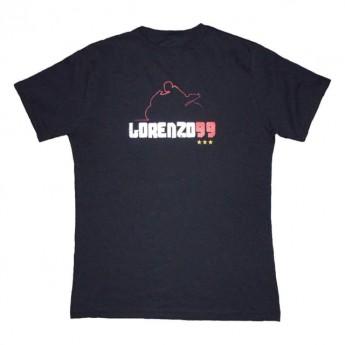 Jorge Lorenzo pánské triko black 99