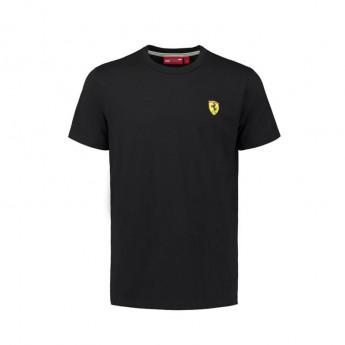 Scuderia Ferrari pánské tričko black Crew Neck F1 Team 2018
