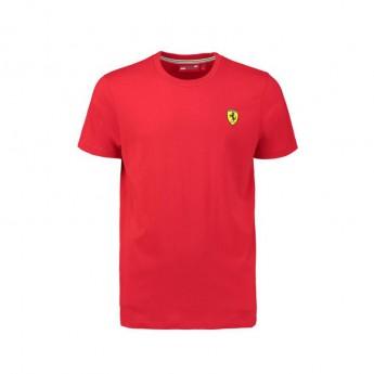 Scuderia Ferrari pánské tričko Crew Neck red F1 Team 2018