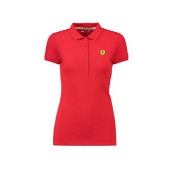 Ferrari dámské polo tričko Classic red F1 Team 2018
