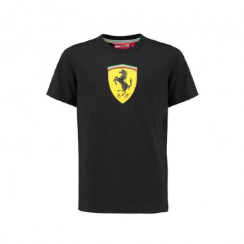 Scuderia Ferrari dětské tričko Classic black F1 2018