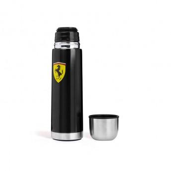 Ferrari kovová termoska black F1 Team 2018